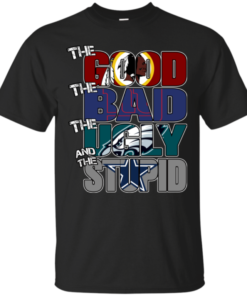 Washington Redskins – The Good The Bad The Ugly and The Stupid T-shirts