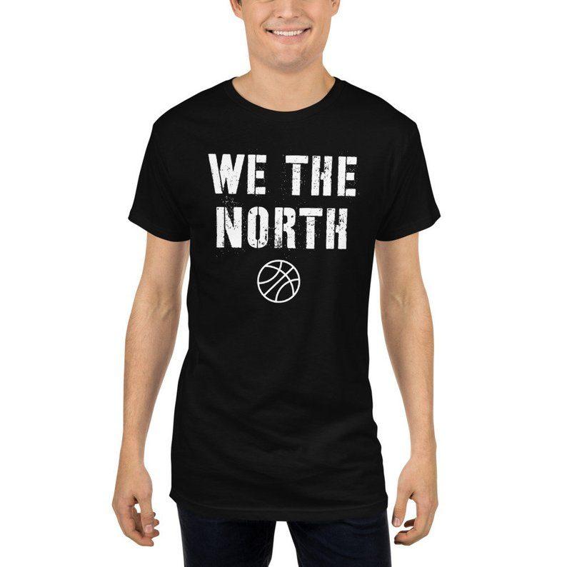best service dc01f 1d946 Mens Toronto Raptors We The north Jersey T-Shirt