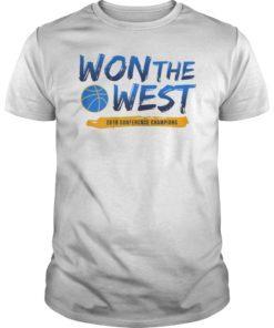 Warriors Won The West T-Shirt
