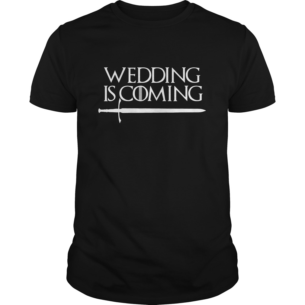 Funny Wedding Gifts For Groom: Wedding Is Coming TShirt Funny Party Gift For Groom Bride