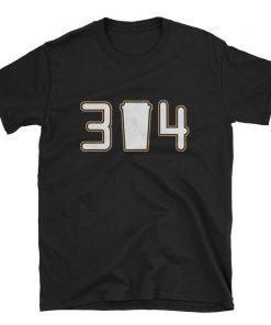 314 3 Cup 4 Funny BORIS Play Gloria #314 Short-Sleeve Unisex T-Shirt