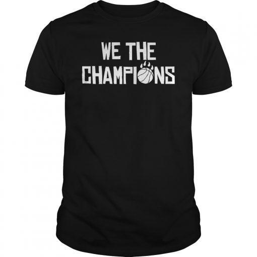 We Are Champions Toronto Raptors Tee Shirt