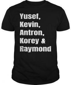 Yusef, Kevin, Antron, Korey & Raymond Gift T-Shirt