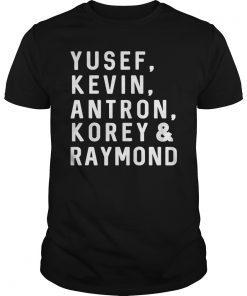 Yusef, Kevin, Antron, Korey, Raymond T-Shirt