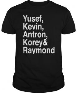 Yusef, Kevin, Antron, Korey, Raymond Vintage T-Shirt