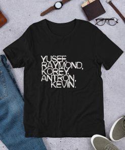 Yusef Raymond Korey Antron & Kevin Central Park 5 Shirt Movie T-shirt