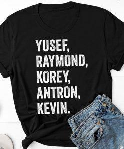 Yusef Raymond Korey Antron & Kevin Central Park 5 Shirt Movie Tee Shirt
