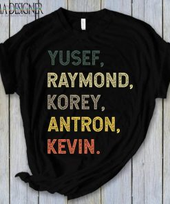 Yusef Raymond Korey Antron & Kevin Netflix Tee Shirt