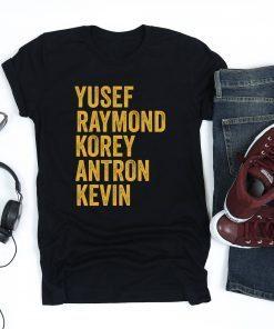 Yusef Raymond Korey Antron & Kevin Netflix When They See Us Shirt