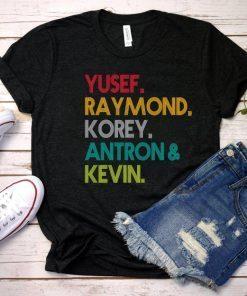 Yusef Raymond Korey Antron & Kevin Tshirt - Netflix T-shirt