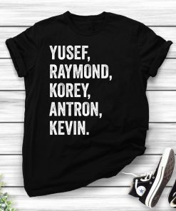Yusef Raymond Korey Antron & Kevin Tshirt - Netflix T-shirt - korey wise Shirt