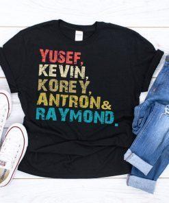 Yusef Raymond Korey Antron & Kevin Tshirt - Netflix Tee shirt korey wise Gift TShirt
