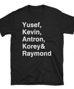 Yusef Raymond Korey Antron & Kevin Tshirt - Netflix Tee shirt korey wise Shirt