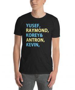 Yusef Raymond Korey Antron & Kevin Tshirt korey wise Classic T-Shirt