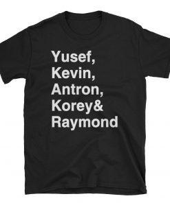 Yusef Raymond Korey Antron & Kevin Tshirt korey wise Classic Tee Shirt