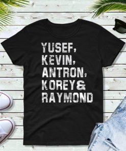 Yusef Raymond Korey Antron & Kevin Tshirt korey wise Unisex T-Shirt