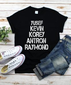 Yusef Raymond Korey Antron & Kevin When They See Us 2019 Shirt