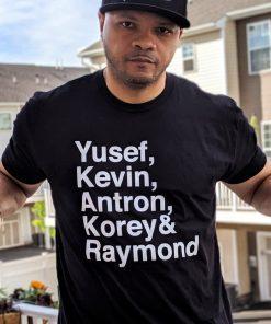 Yusuf Raymond Korey Antron & Kevin Tshirt - Netflix T-shirt - korey wise Shirt