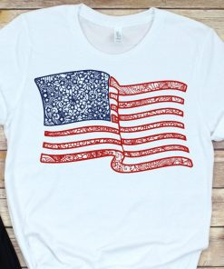 Zentangle american flag SVG, USA Map svg merica 4th july svg independence day US flag Fourth of July