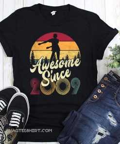 10th birthday awesome since 2009 floss like a boss shirt