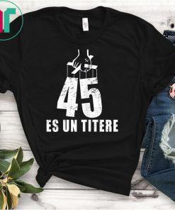 45 Es Un Titere Puppet Fake Presidential Seal T-Shirt