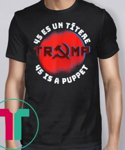 45 IS A Puppet T-Shirt Fake Presidential Seal T-Shirt