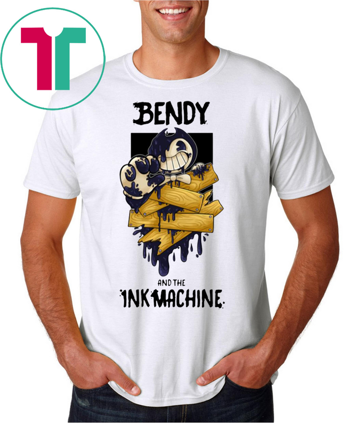 Bendy And The Ink Machine T-Shirt - OrderQuilt.com