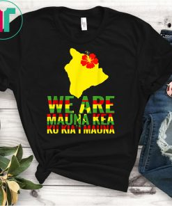 WE ARE Mauna Kea Save Beautiful Island of Hawaii Shirt