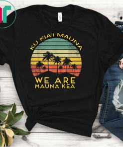 We Are Mauna Kea T-Shirts-DEFEND Mauna Kea Tee
