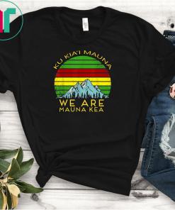 We Are Mauna Kea T-Shirts DEFEND Mauna Kea Tee Shirt