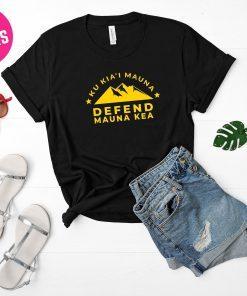 We Are Mauna Kea shirt defend mauna kea shirt protect mauna kea shirt Ku Kiai Mauna shirt