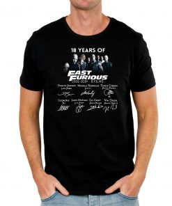 18 years of Fast and Furious Classic TShirts