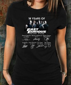 18 years of Fast and Furious Unisex Tee Shirt