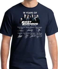 18 years of Fast and Furious Tee Shirt