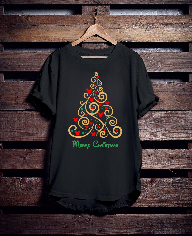 Disney Christmas Shirts.Disney Christmas Shirt Disney Family T Shirts Christmas Tree Shirt Orderquilt Com