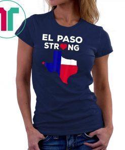 #ElPasoStrong El Paso Strong Classic Tee Shirt