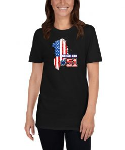 Funny Greenland State 51 Pro Trump 2020 Gift Republican T Shirt