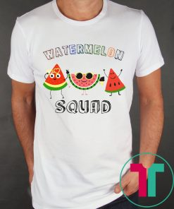 Watermelon Squad T-Shirt for Mens Womens Kids