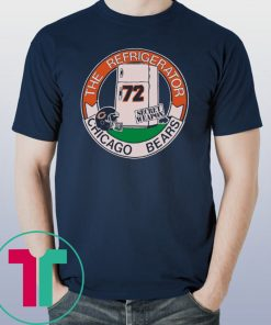 1980s Chicago Bears Refrigerator Perry Unisex T-Shirt