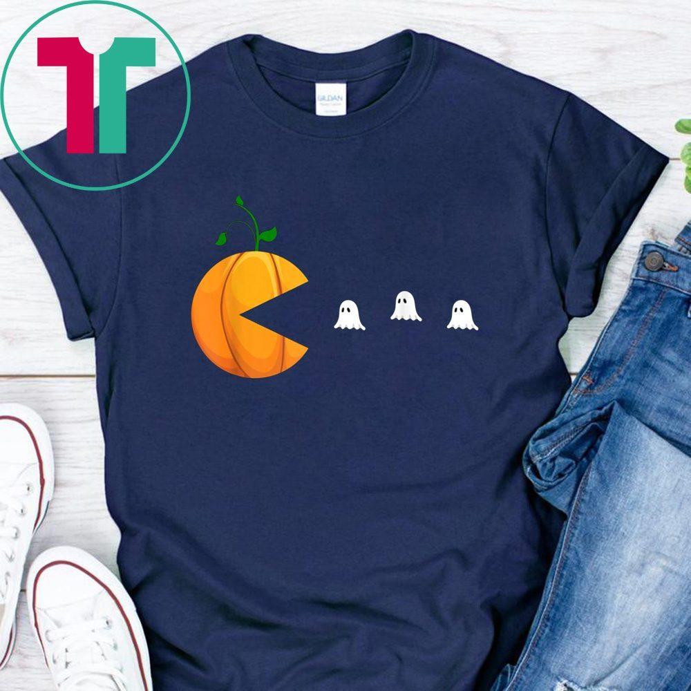 Funny Halloween Shirts For Women Kids Men Pumpkin Ghosts T