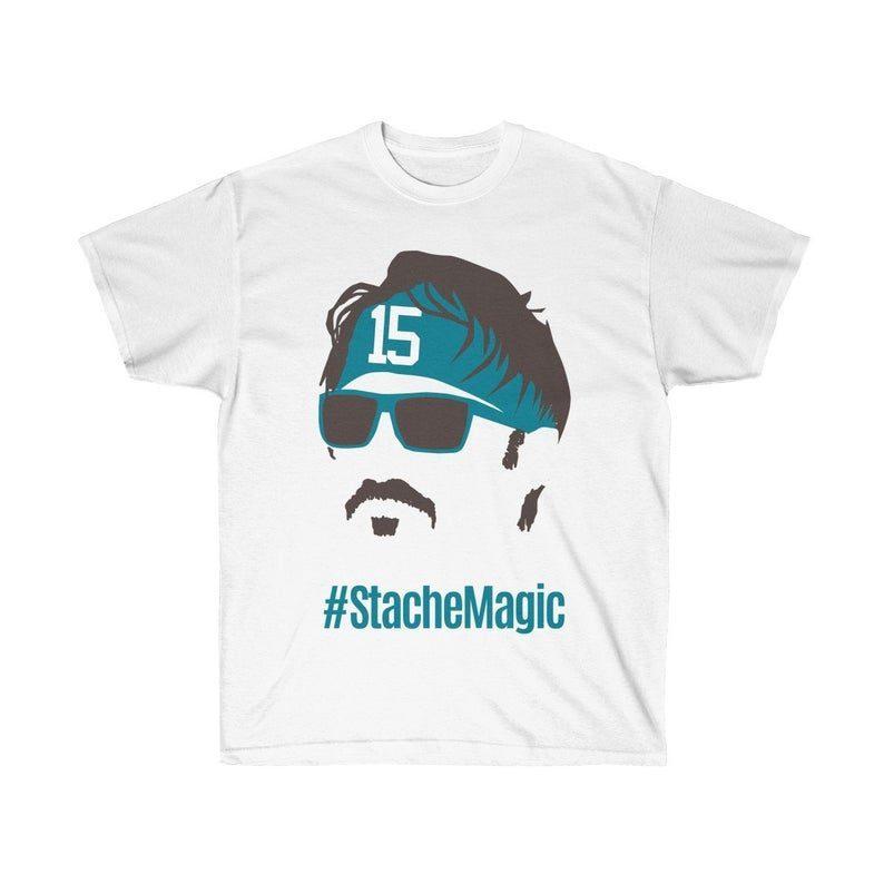 new concept 2e518 f8ae1 Gardner Minshew #StacheMagic T-Shirt Jacksonville Football Duval Unisex  Ultra Cotton Tee - OrderQuilt.com
