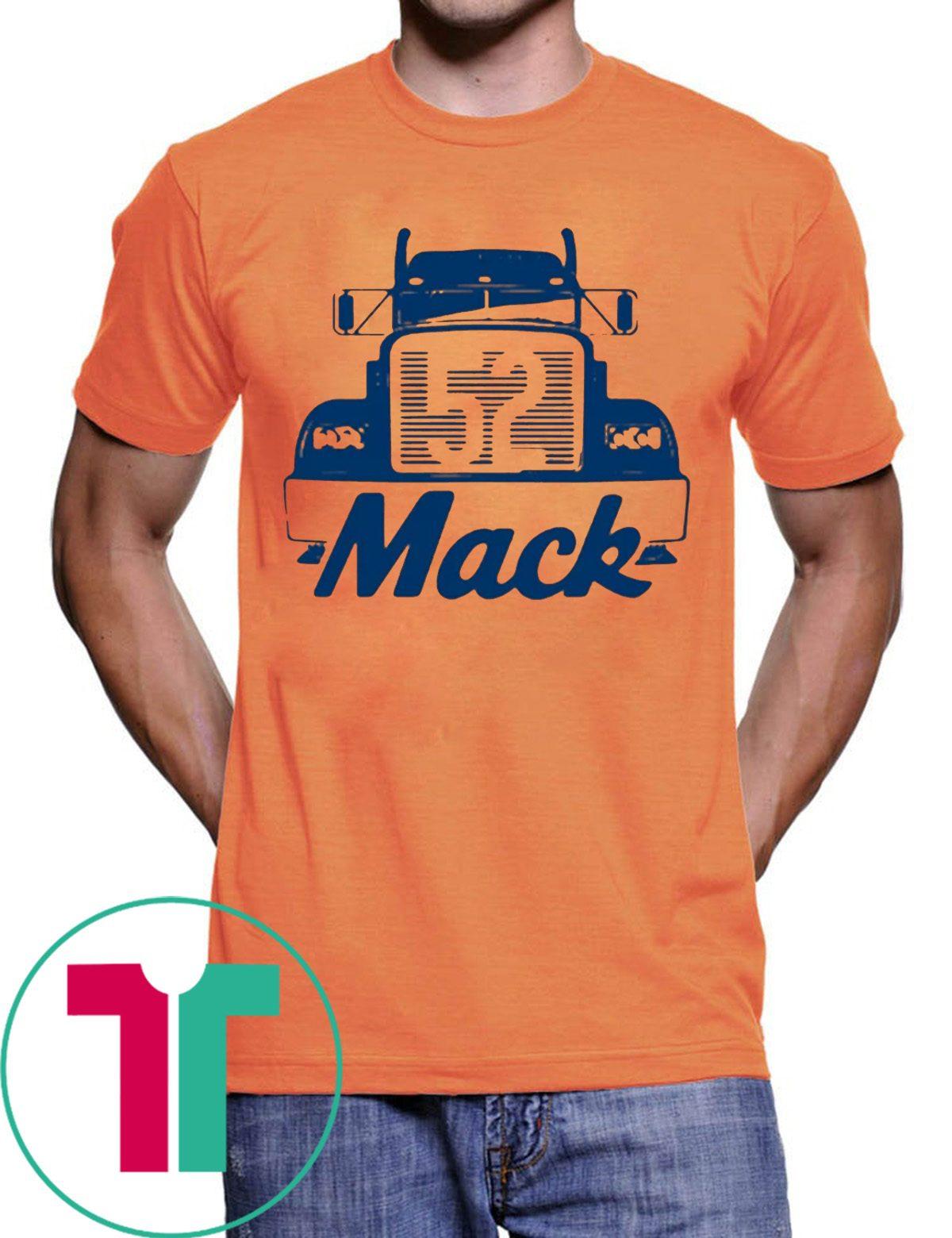 timeless design 968ce 7068b MACK TRUCK T-SHIRT KHALIL MACK - CHICAGO BEARS TEE SHIRT - OrderQuilt.com