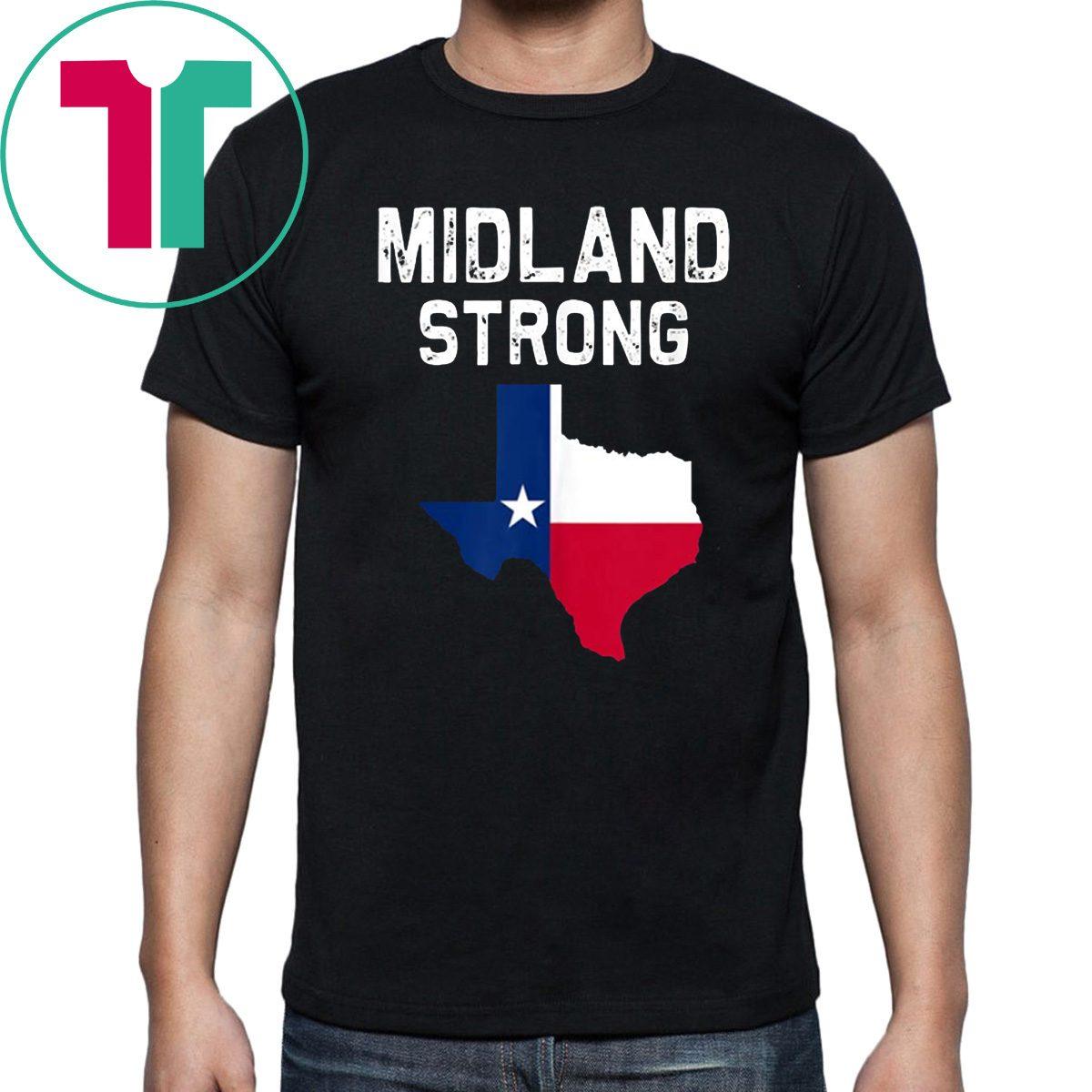Midland Odessa Strong Texas T-Shirt