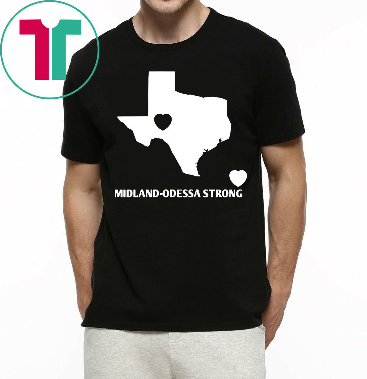 Texas Midland-Odessa Strong T-Shirt