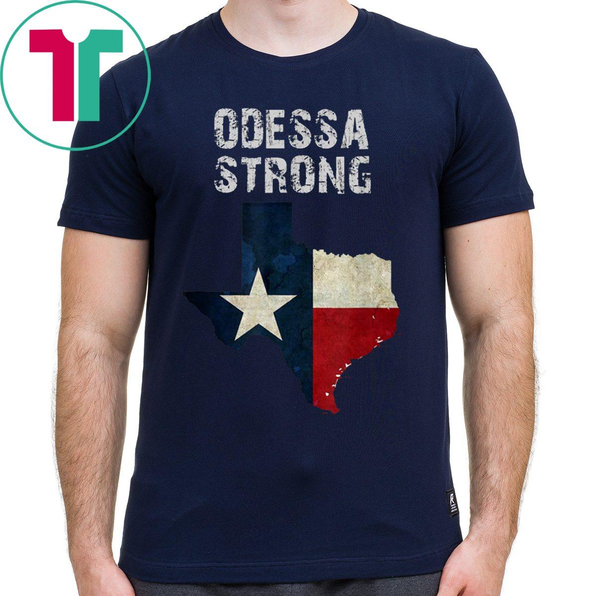 Odessa Strong Midland Texas Strong Shirt