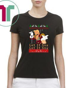 Zapp Brannigan let it Snu Christmas Sweatshirt Tee Shirt