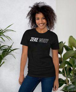 Zeke Who Jerry Jones Ezekiel Elliott Official 2019 Tee Shirt