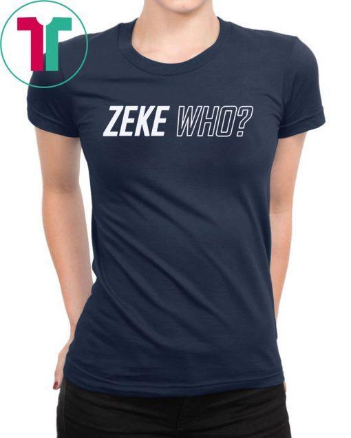 Zeke Who Jerry Jones Ezekiel Elliott office T-Shirt
