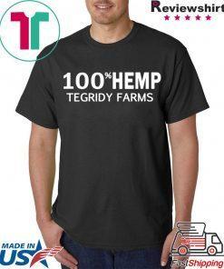 100% Hemp Tegridy Farms Parody Tee Shirt