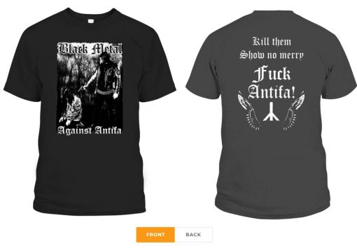 Behemoth's Nergal Reveals 'Black Metal Against Antifa' T-Shirt